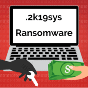 Remove .2k19sys File Virus Ransomware (+File Recovery)