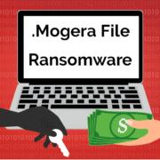 Remove .Mogera File Virus Ransomware (+File Recovery)