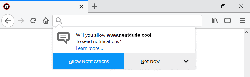 Instructions to get rid of Neatdude.cool from your computer