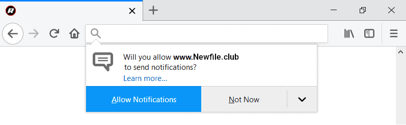 Instructions to get rid of Newfile.club from your computer