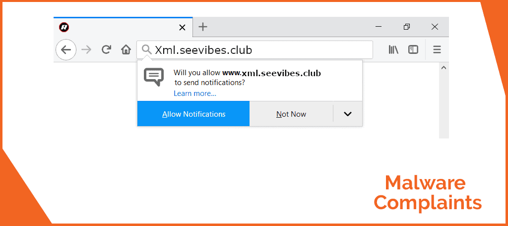 Remove Xml seavibes club Virus (Chrome/FF/IE) - Malware