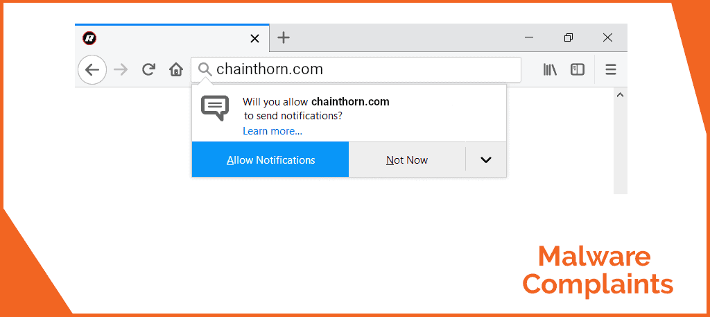 "Chainthorn.com ""Virus"" removal guide for windows and mac"
