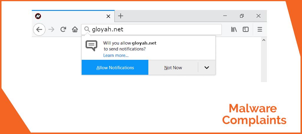 Remove Gloyah net