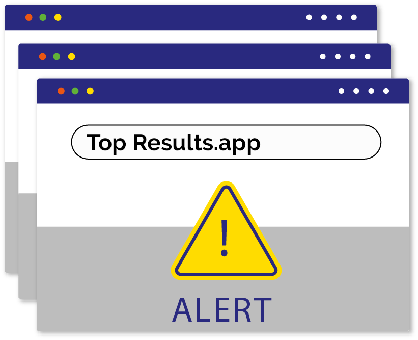 Instructions to get rid of Top Results virus