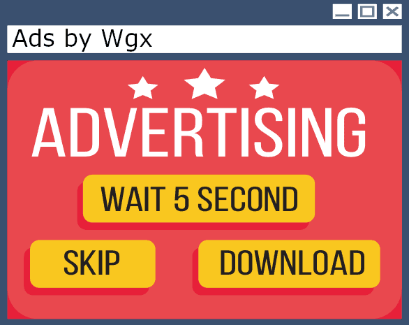 Ads by Wgx Removal guide for windows and mac