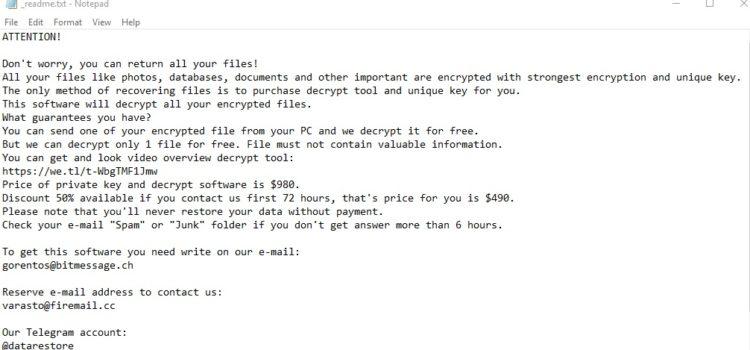 Remove Herad Virus Ransomware (+File Recovery)
