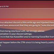 Remove Discord Virus (Kawaiibot Virus) July 2019 Update