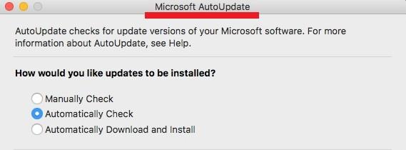 Microsoft AutoUpdate Virus