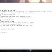 Remove Berosuce Virus Ransomware (+.Berosuce File Recovery)