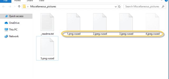 Remove Vusad Virus Ransomware (+.Vusad File Recovery)