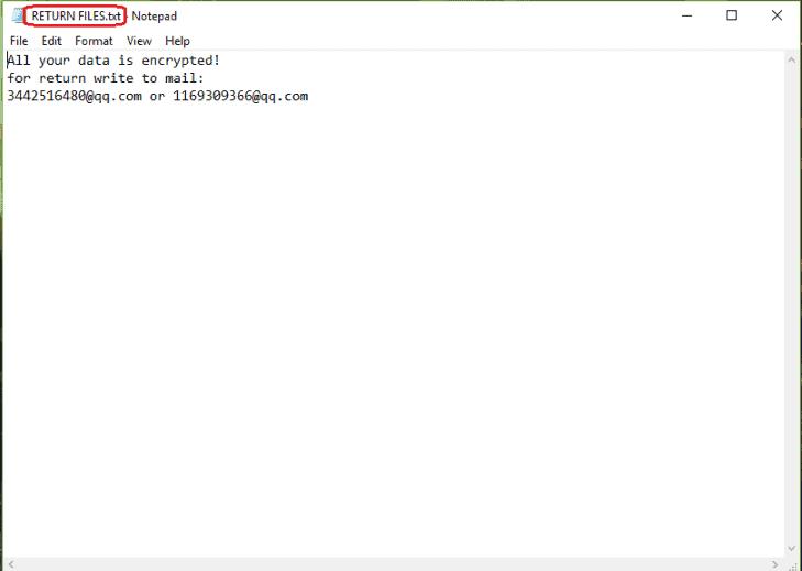3442516480@qq.com Virus