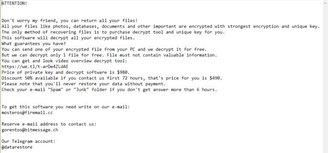 Gero Virus Removal (+.Gero File Recovery)