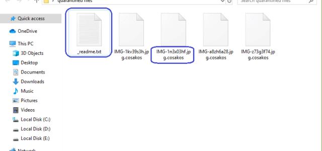 Remove Cosakos Virus Ransomware (+ .Cosakos File Recovery)