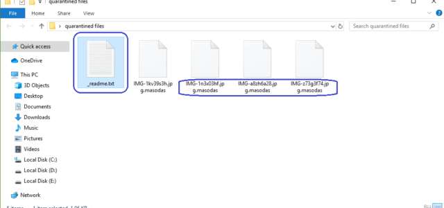 Masodas Virus Removal (+.Masodas File Recovery)