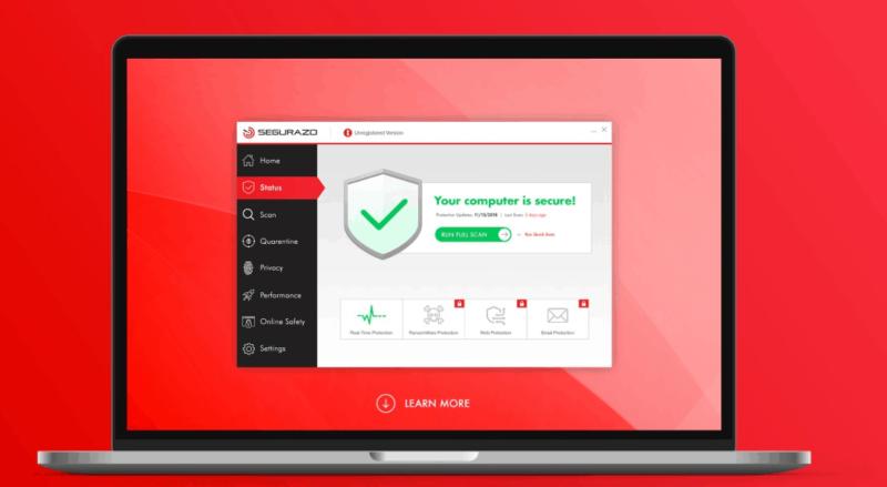 How to Uninstall Segurazo Antivirus - Malware Complaints