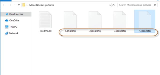 Remove Lotej Virus Ransomware (+.Lotej File Recovery)
