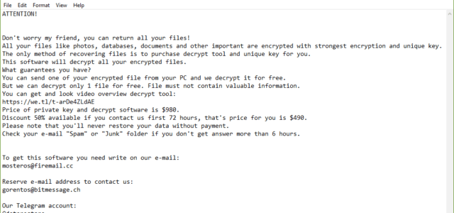 Remove Zatrov Virus Ransomware (+ .Zatrov File Recovery)