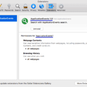 Remove Application Events Virus (Mac Guide) Safari/Chrome/FF