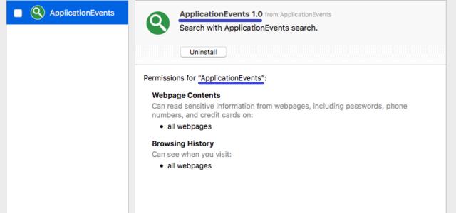Remove Application Events Virus (Mac Guide) Safari/Chrome/FF