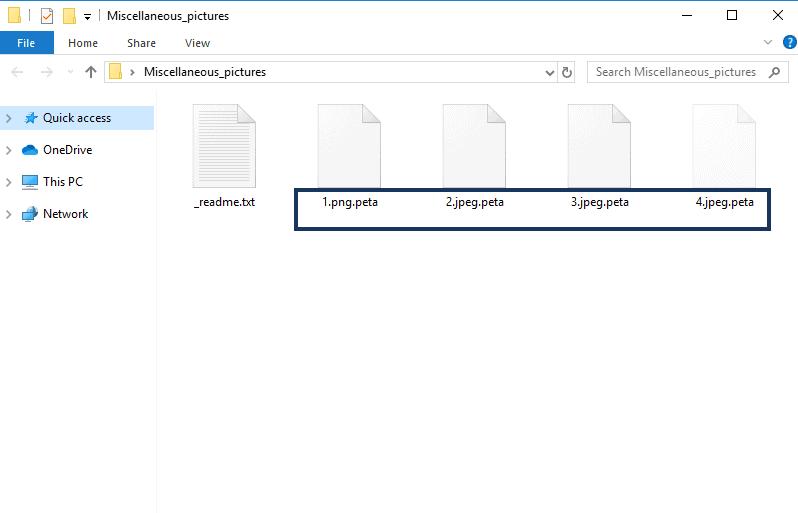 .peta files
