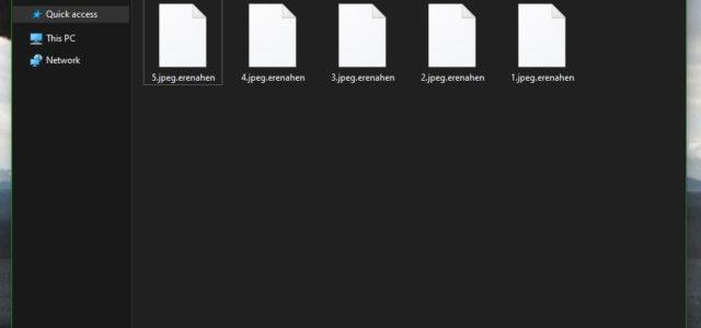 Remove Erenahen Virus (+ .Erenahen File Recovery)