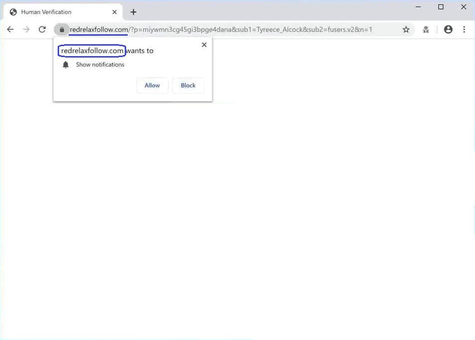 Redrelaxfollow.com Virus