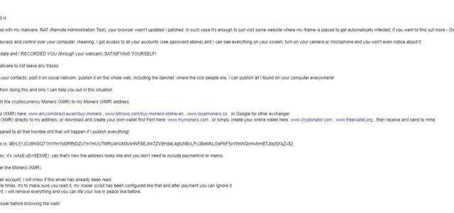 Remove You better pay me Email Scam